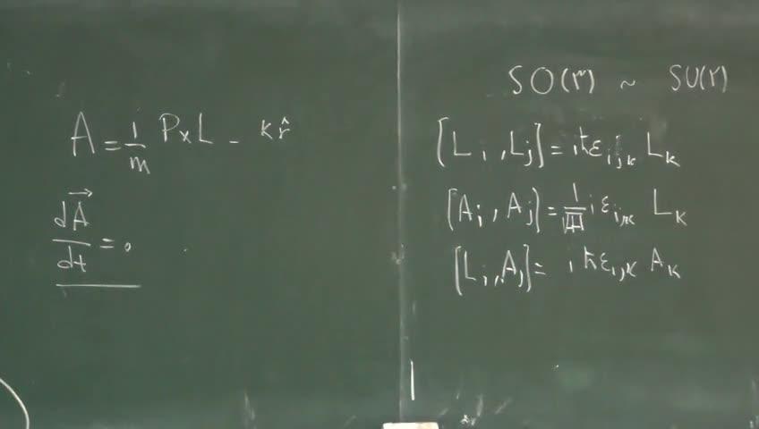 مکانیک کوانتیک ۲ - جلسه پنجم