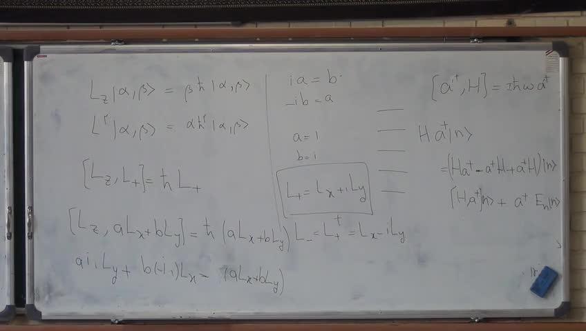مکانیک کوانتیک ۱ - جلسه بیست و چهارم- بخش ٢