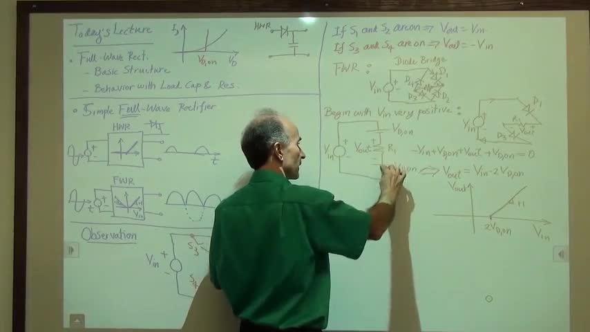 مدارات الکترونیک ۱ - جلسه یازدهم - یک سو کننده تمام موج