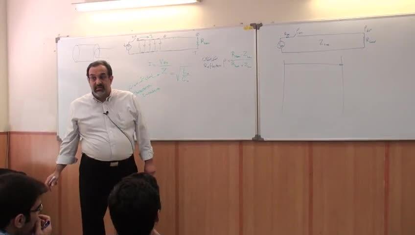 مدارهای واسط کامپیوتری - جلسه اول - Transmition Lines