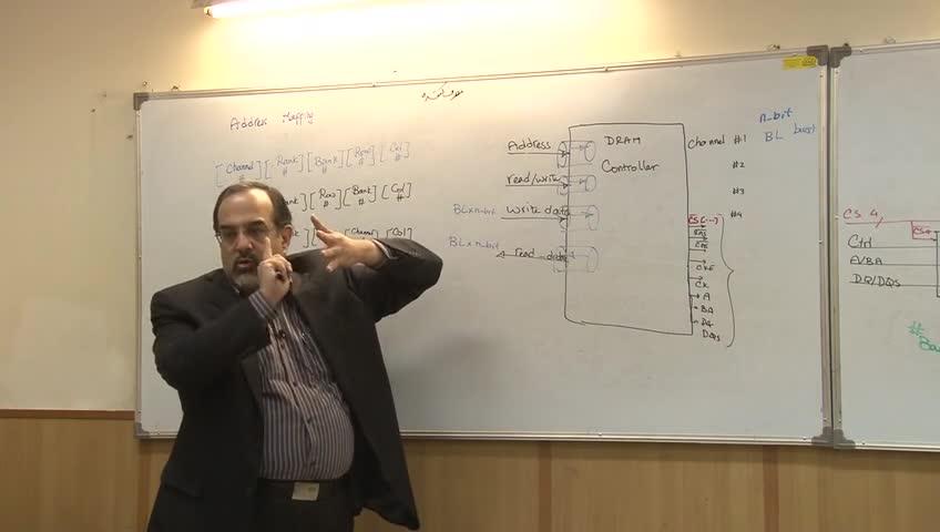 مدارهای واسط کامپیوتری - جلسه یازدهم - کنترلر های DRAM