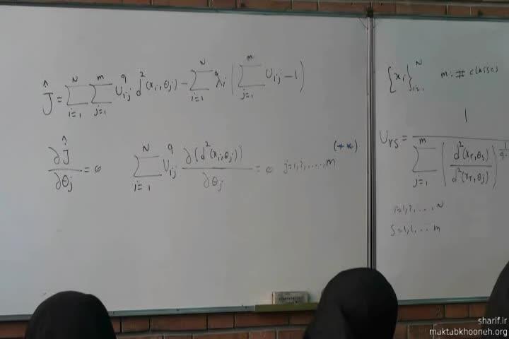 تشخیص الگو - جلسه بیست و یکم