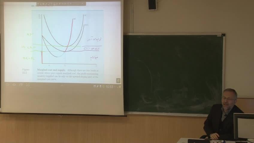 اقتصاد خرد- دوره فرعی - جلسه سیزدهم - تئوری بنگاه و سازی و کار بازار