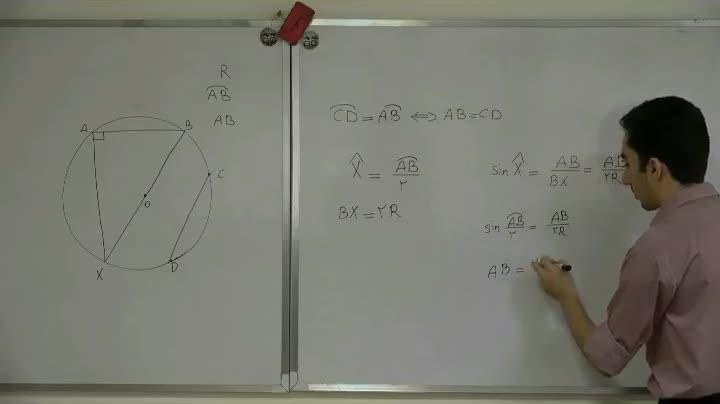 هندسه - آمادگی مرحله ۲ - جلسه هشتم - حمیدی - روشهای جبری در هندسه 1