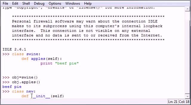 آموزش مقدماتی Python - جلسه ۳۷ - آموزش مقدماتی Python - Constructors