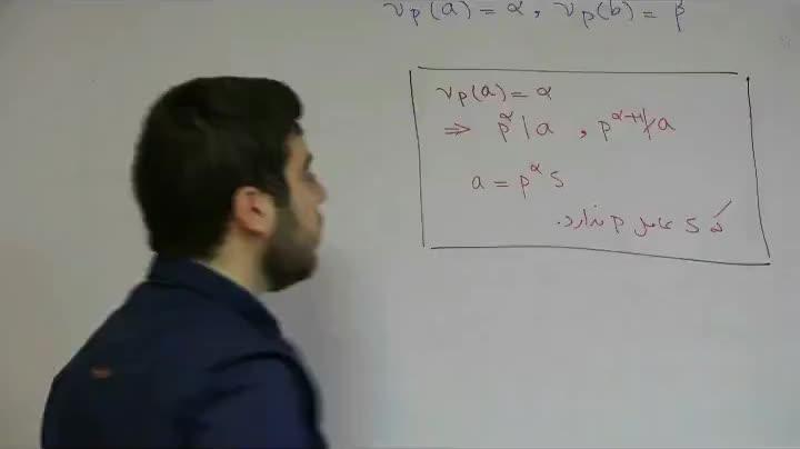 نظریه اعداد - آمادگی مرحله ۲ - جلسه یازدهم - شفایی - عوامل اول در یک عدد طبیعی 1