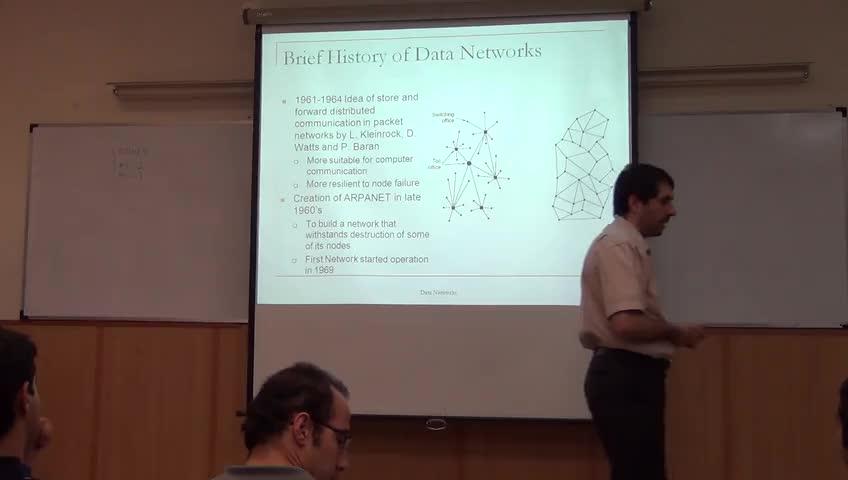 شبکه مخابرات داده - جلسه اول - تاریخچه شبکه