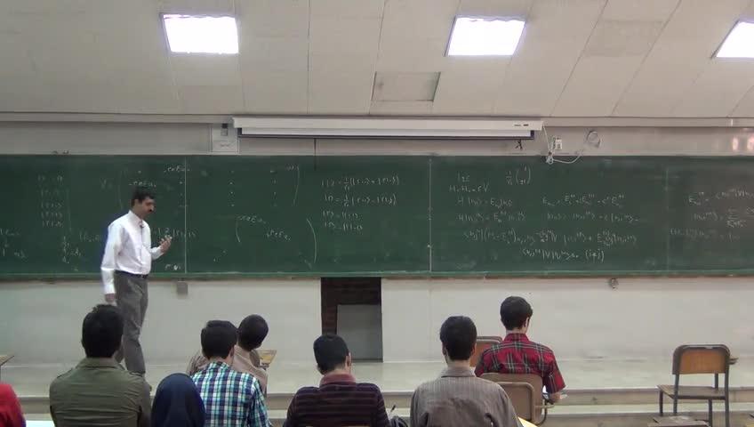 مکانیک کوانتیک ۲ - جلسه هفدهم