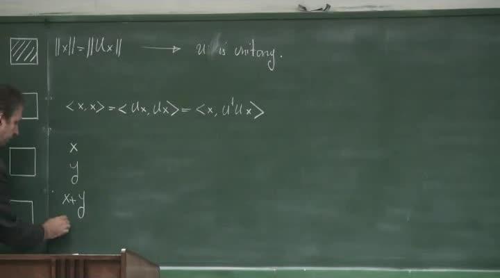 مکانیک کوانتیک - جلسه ۱۲ - مسئله مقدار ویژه ، عملگرها(بخش اول)