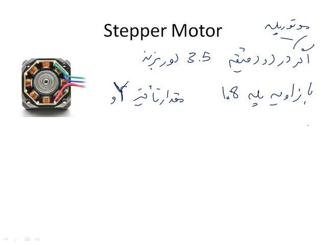 میکروکنترلرهای AVR - میکروکنترلر AVR - جلسه ١٥ - Stepper-2