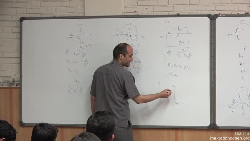مدارهای آنالوگ - جلسه هجدهم - تحلیل انواع مدار