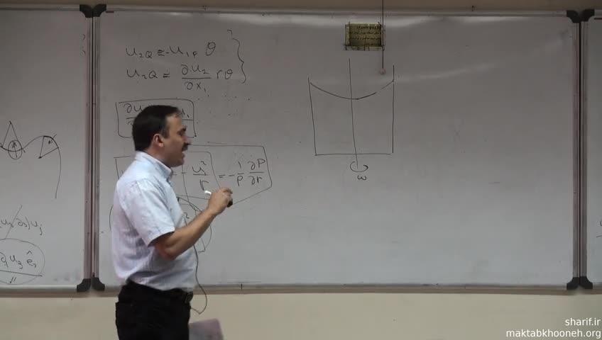 مکانیک سیالات - جلسه هفتم - شاره اویلری