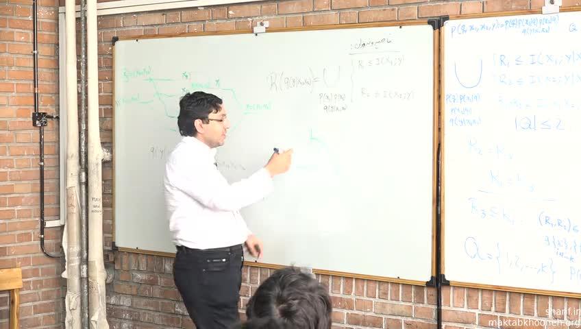 تئوری اطلاعات شبکه - جلسه دهم - اثبات وارون در کانال دسترسی چندگانه
