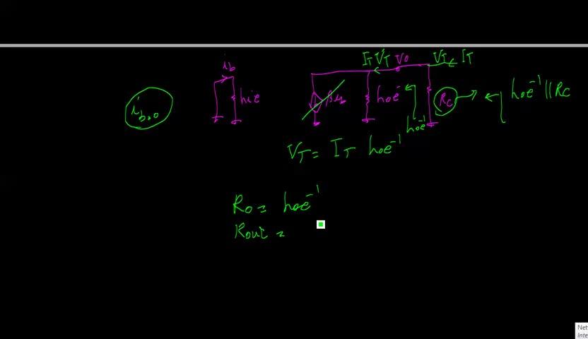 الکترونیک ۱ - جلسه 15 - مقاومت ورودی و خروجی طبقه امیتر مشترک.