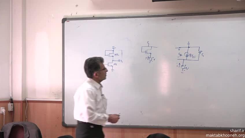 الکترونیک ۳ - جلسه سی ام - تقویت کننده های یک طبقه CMOS