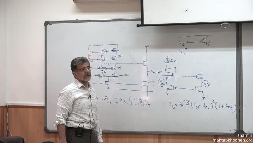الکترونیک ۳ - جلسه سی و چهارم - تقویت کننده دیفرانسیلی و انواع منابع جریان