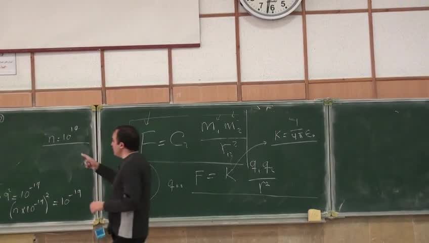 فیزیک ۲ - جلسه اول - مقدمه ای بر الکترومغناطیس ؛ بار الکتریکی ، قانون کولن