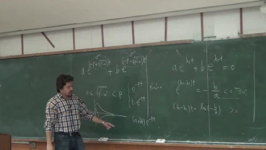 معادلات دیفرانسيل - جلسه چهاردهم - کاربردهای معادلات خطی مراتب بالاتر در فیزیک