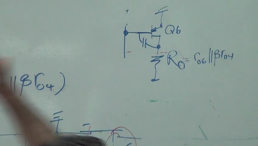 الکترونیک ۳ - جلسه هشتم - رفتار فرکانسی تقویت کننده های دیفرانسیلی cascode