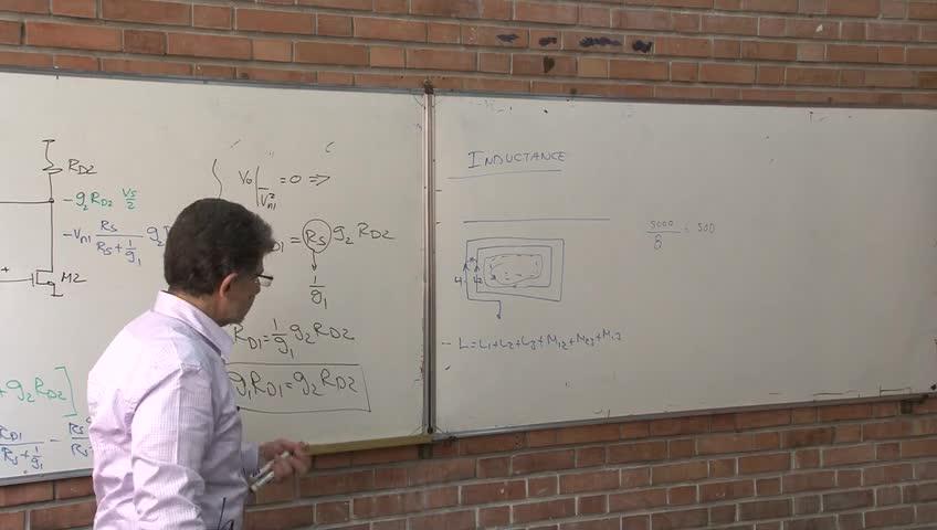 مدارهای مجتمع فرکانس بالا - RFIC - جلسه هجدهم - LNA دیفرانسیلی، ساخت سلف بر روی chip