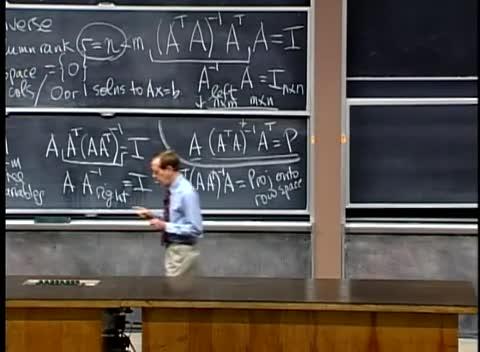 جبر خطی - دانشگاه MIT - جلسه ۳۳