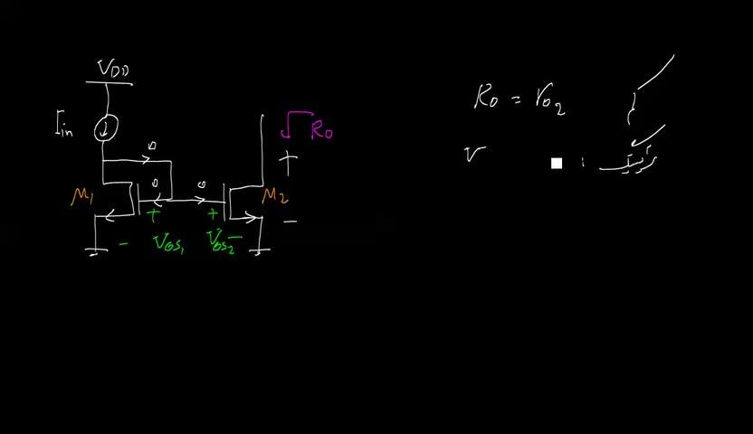 الکترونیک ۲ - جلسه 14 - آینه جریان ساده MOSFET.